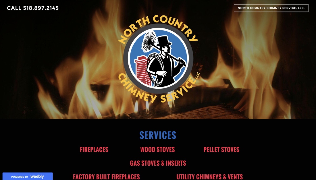 North Country Chimney Service website